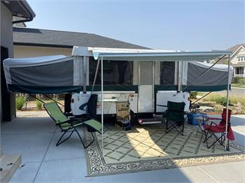 Fully Equipped Coleman Sun Valley Pop TopTrailer